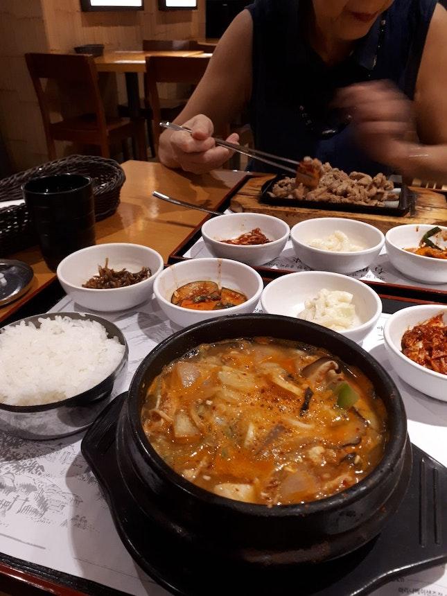 Good And Satisfying Korean Meal