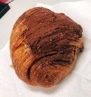 Dark Chocolate Croissant