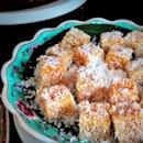 Sweet Potato Kueh || The Lobby Lounge @ShangrilaSG .