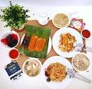 Various Hawker Dishes || Kovan Market & Food Centre