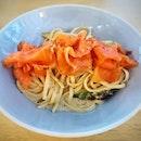 🎉PROMO CODE🎉 Smoked Salmon Pasta (S$15) || @Cheeky_AllDay .