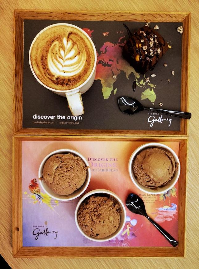 Chocolate Tasting Platters (S$14 each) || @DiscoverTheDark