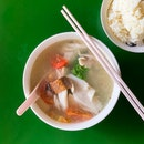 Fish Soup w Rice [~$5.50]