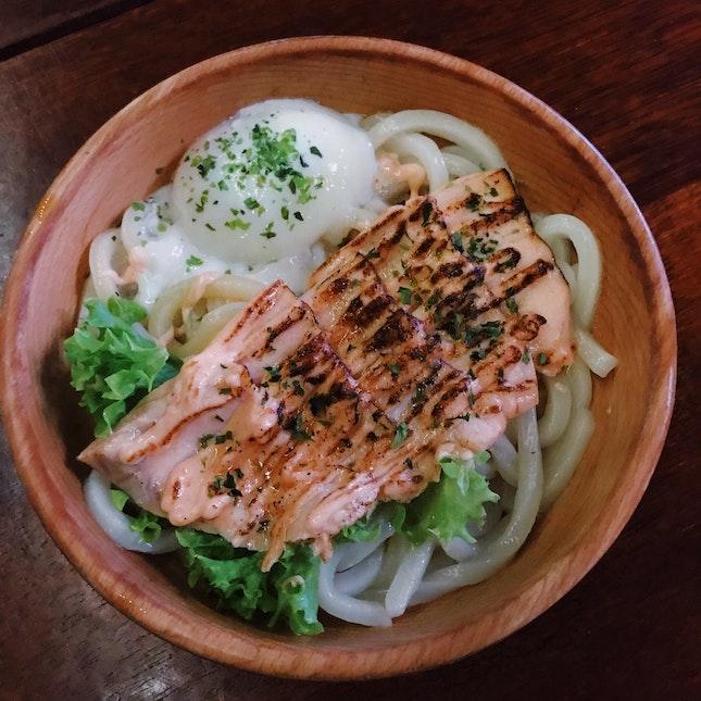 Mentaiko Salmon + Poached Egg ($10.90)