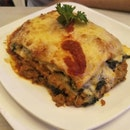 Vegeterian Lasagna and Pasta