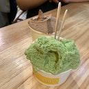Pistachio, Green Tea, Ferrero (4 Scoops-$9 With Burpple Beyond)