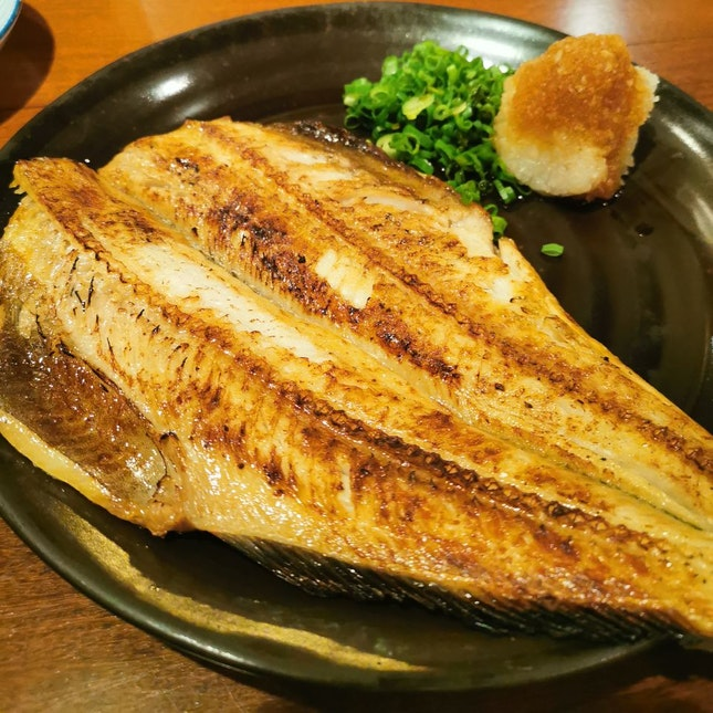 Grilled Shima Hokke