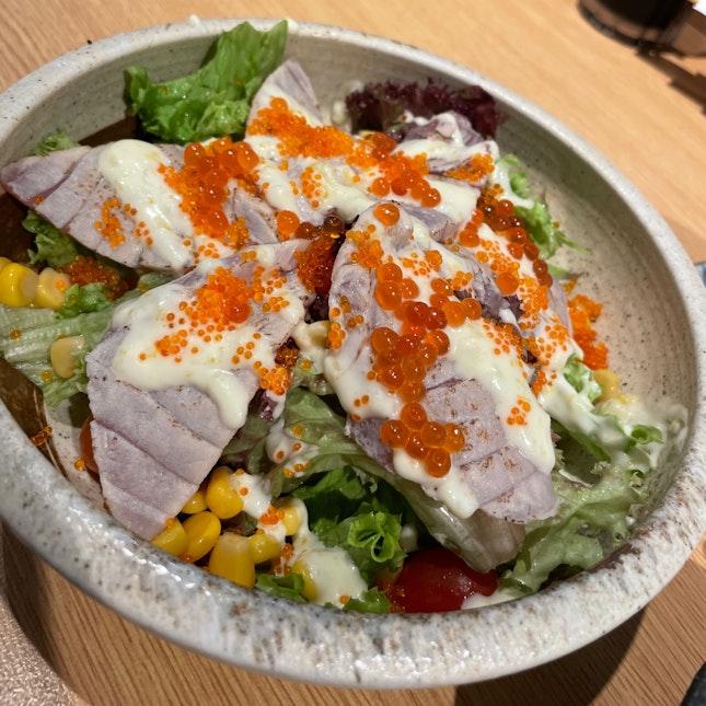 Aburi Sashimi Salad