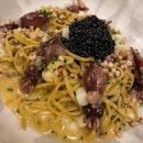 Spaghetti Alla Chitarra with Ika