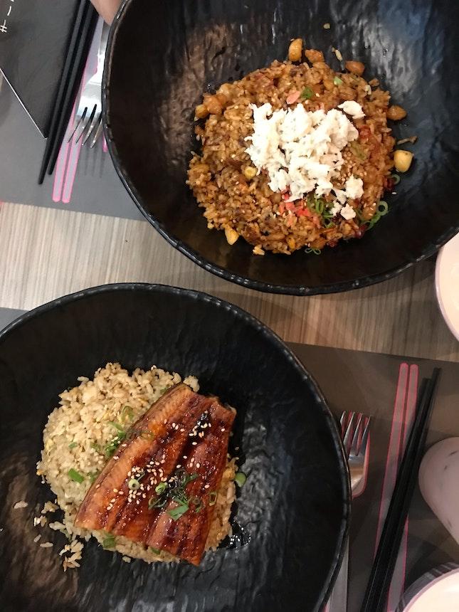 Chahan Unagi And Spicy Fried Rice