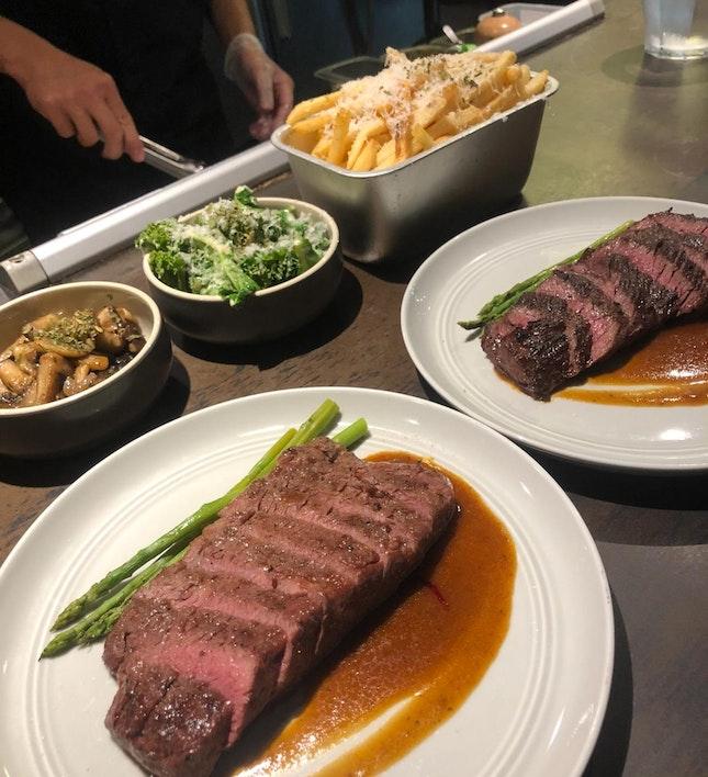Amazing Steak Dining Experience