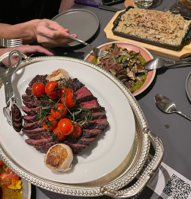 An all rounded steak experience