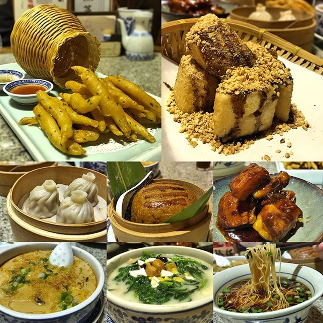 Deep Fried Crispy Whitebait | Traditional Brown Sugar Rice Cake |Celestial Roast Duck Dumpling | Steamed Glutinous Rice with Pork | Sweet Vinegar Tangy Pork Ribs | Shrimp Roll Custard with Scallions | Poached Spinach in Century & Salted Egg Stock | Jinling Noodles in Light Soy Sauce Broth #nanjingimpressions #nanjingimpressionssg #foodstagram #chinesefood #nanjingfood #foodporn #instafood #sgfood #sgfoodies #burpple #burpplesg