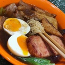 Thin Egg Noodles | Signature Beef Brisket Soup | Soft Boiled Egg | Luncheon Meat | Beef Tendon | Fried Fish Cake #nerdynoodle #nerdynoodlessg #四眼仔 #foodstagram #chinesefood #noodles #foodporn #sgfood #sgfoodies #instafood #instafoodie #burpple #burpplesg