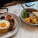 Academics Breakfast & Savoury Pancakes
