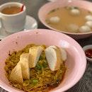 Self-made Fishball 自制西刀鱼圆 (Berseh Food Centre)