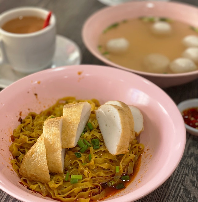 Fishcake with Fishball Noodles