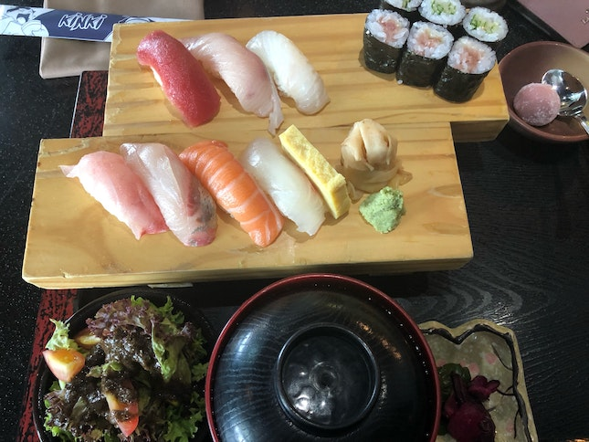 Sushi Lunch Set ($36)