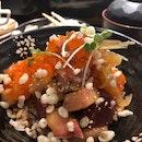 Sashimi Bowl ($18)