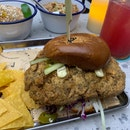 Buttermilk Fried Chicken Burger
