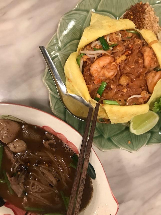 8. Thai-licious Boat Noodles