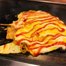 Amazingly good Yakinomiyaki!