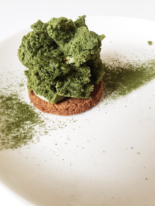 DALE Matcha + Passion Fruit Pastry