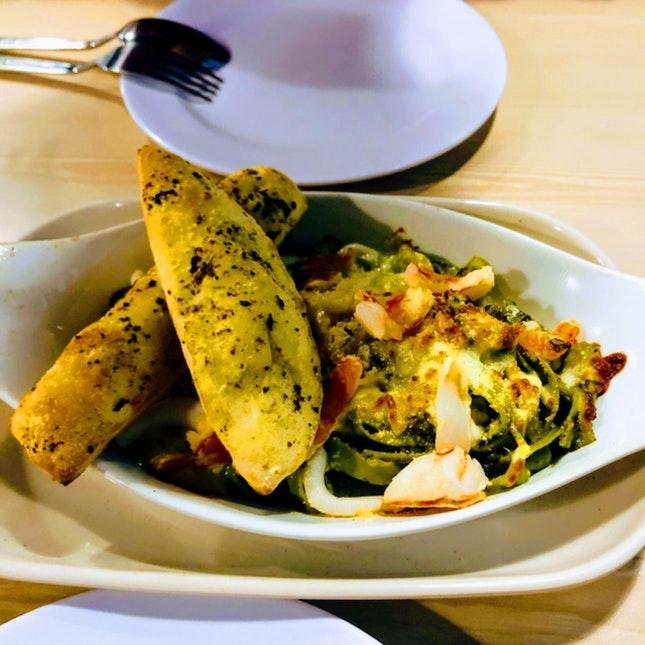 pasta cravings satisfied!