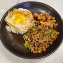 Minced Basil Chicken Rice