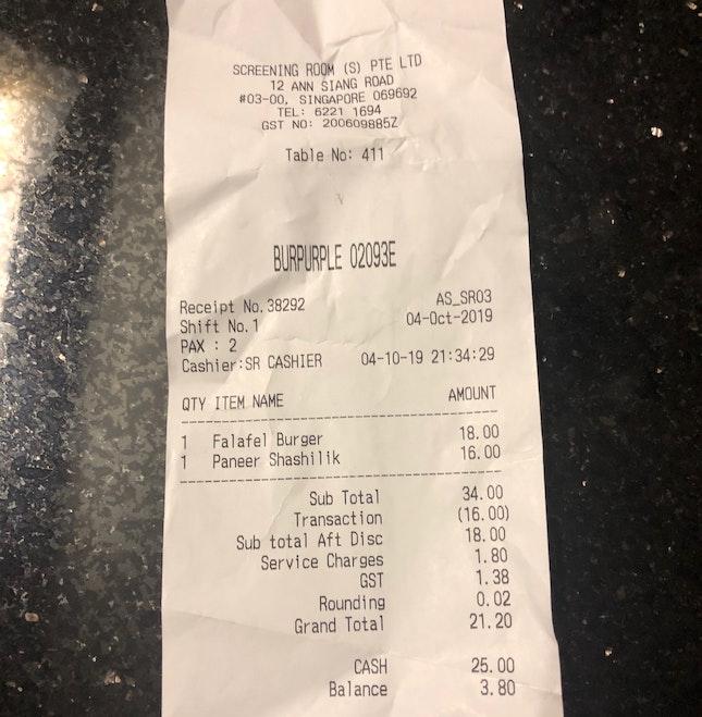 Value Vegetarian Deals 1-for-1