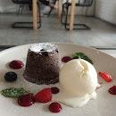 Dark Chocolate Molten Lava Cake
