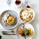 Sunday mornings are always the best with eggs, toast and of course truffle fries.