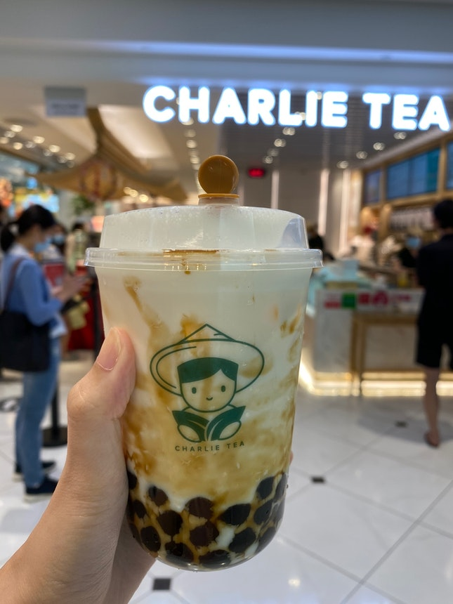 Jade Pearl Milk Tea