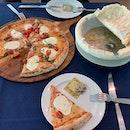 Ravioli & Buffalina Pizza