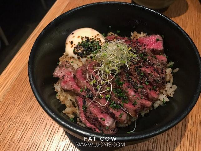Fat Cow Donburi ($48)