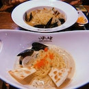 Keu Ppong Cream ($17.80) and Vongole Ppong ($16.80)