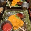 Omurice + Chilli Tomato sauce