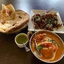 Butter Chix + Naan + Gobi Manchurian