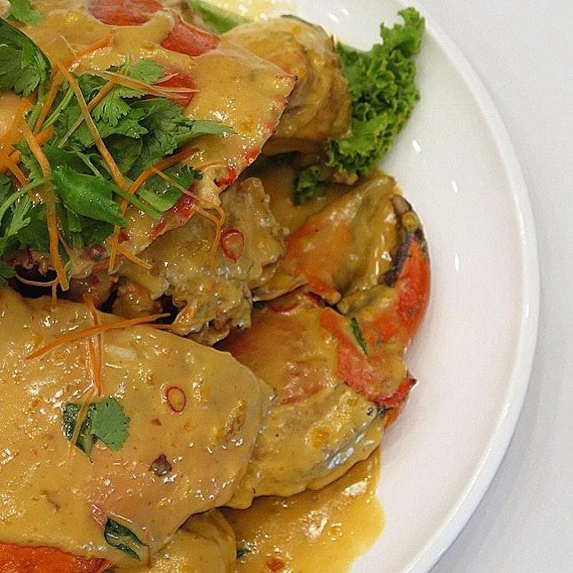 salted egg crab (seasonal price) @ diamond kitchen
