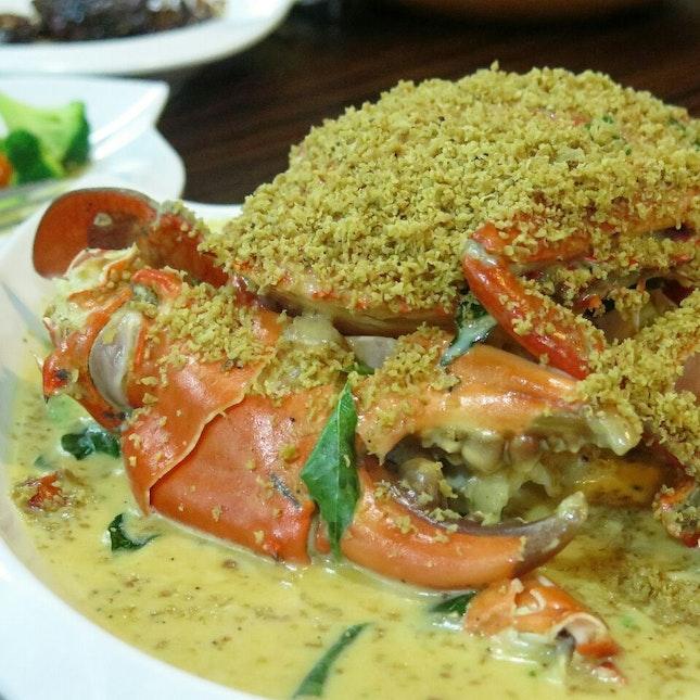 shimmering crab (seasonal price) @ uncle leong