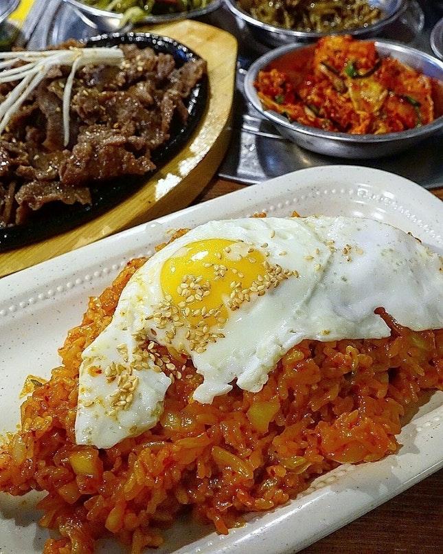 kimchi fried rice @ hoho korean restaurant