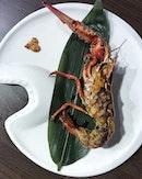 part 4 of 8 of @fukusenrestaurant omakase; one half of canadian lobster.