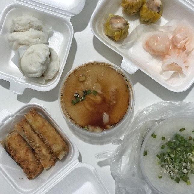 only yi dian xin can satiate our dim sum cravings, even for a takeaway.