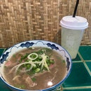 Burpple Set For 2 ($32) - Beef Pho & Homemade Lemonade
