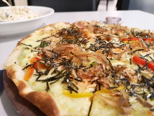 Wasabi Salmon Pizza [RM32]