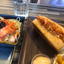 Lobster Roll And Spaghetti