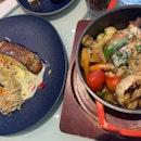 Miso Cod Fish + Spring Chicken