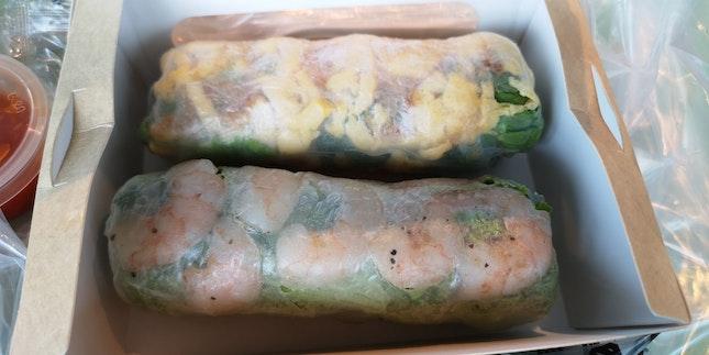 Delicious SAIGON rolls