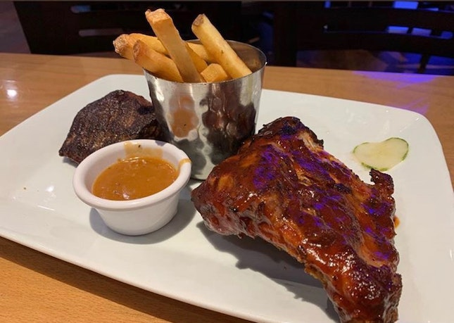 Baby Back Ribs and Sirloin | $43.90