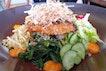 Bincho Grilled Salmon Salad | $29